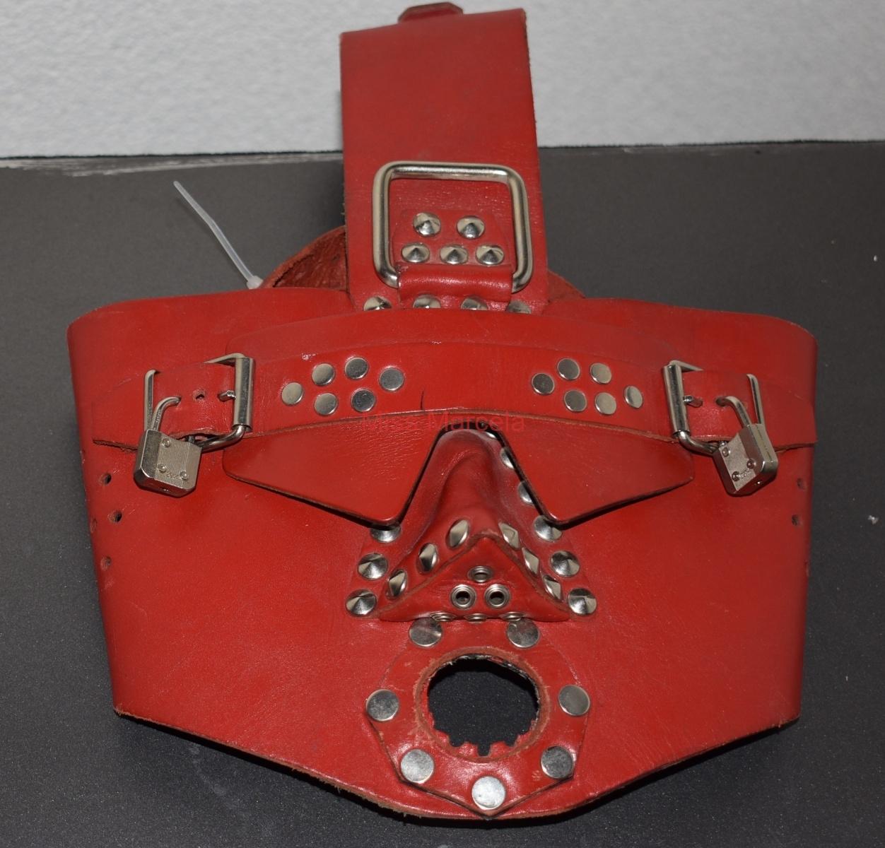 Masken, Gasmasken, Atemkontrolle